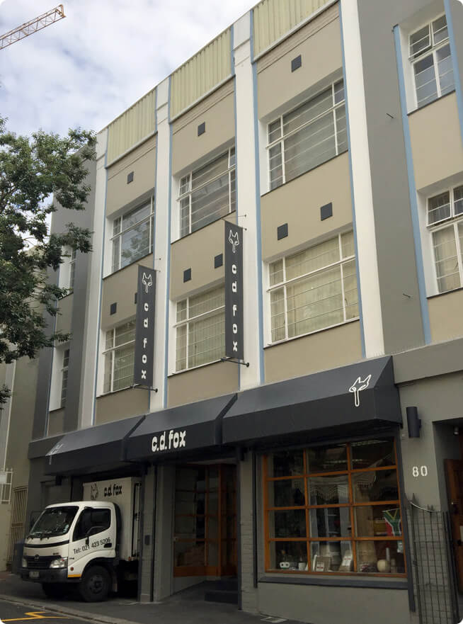 CD Fox, 80 Hout Street, Cape Town